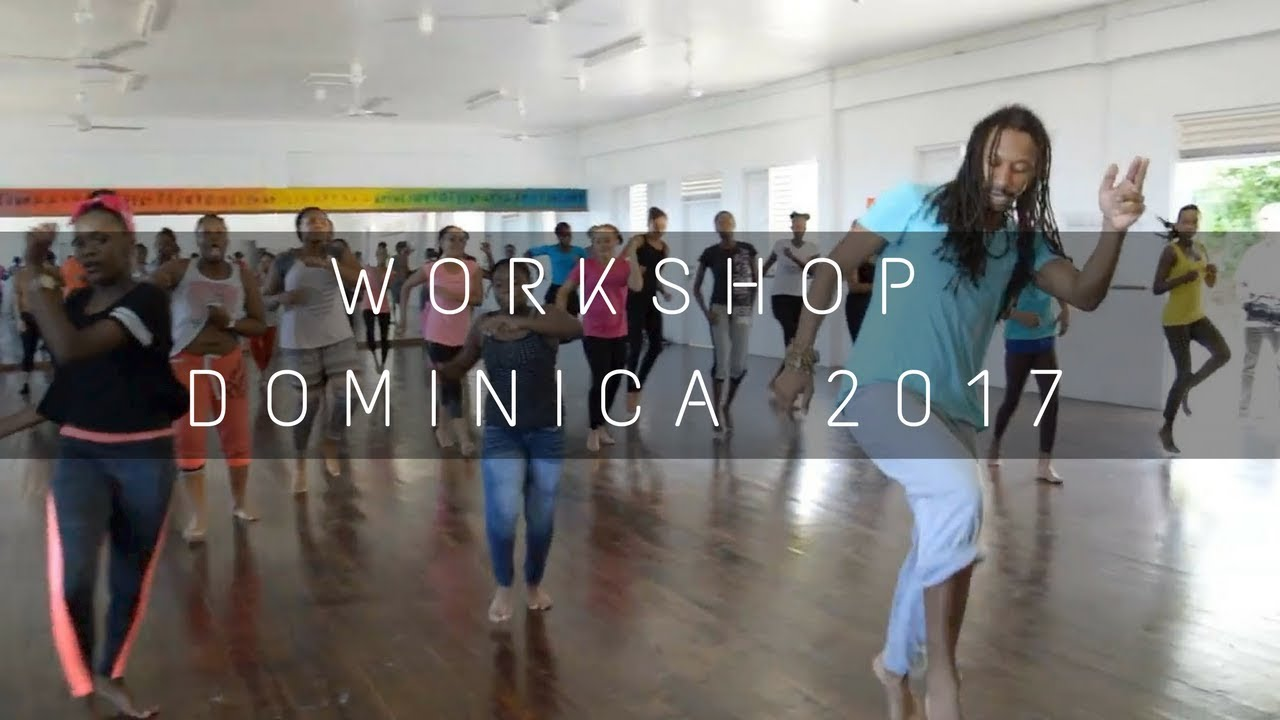 Dance workshop Dominica 2017 | Momo Sanno