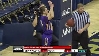 WPIAL Boys Basketball Class 2A Championship - Our Lady of the Sacred Heart vs Sewickley Academy