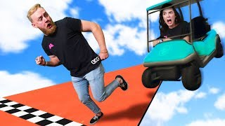 Ultimate Golf Cart Deathrun Challenge! | GTA5