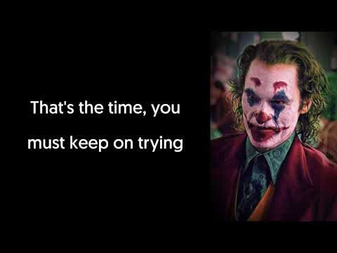 "Jimmy Durante - Smile (Lyrics Video) Song From ""Joker (2019)"" Teaser Trailer"