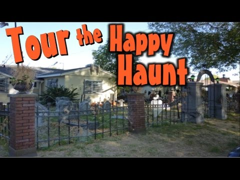 Outdoor Halloween Yard Decorations - Old Creepy Cemetery Display