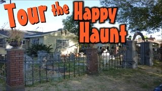 Outdoor Halloween Yard Decorations: Old Creepy Cemetery Display