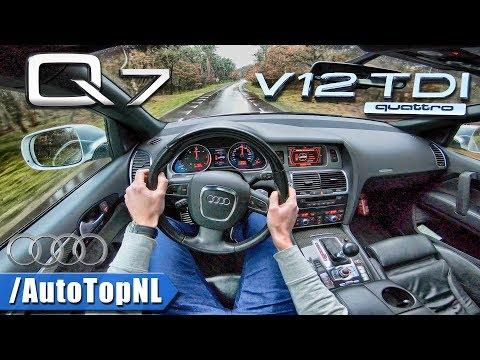 Audi Q7 V12 TDI 6.0 BiTurbo Quattro POV Test Drive by AutoTopNL