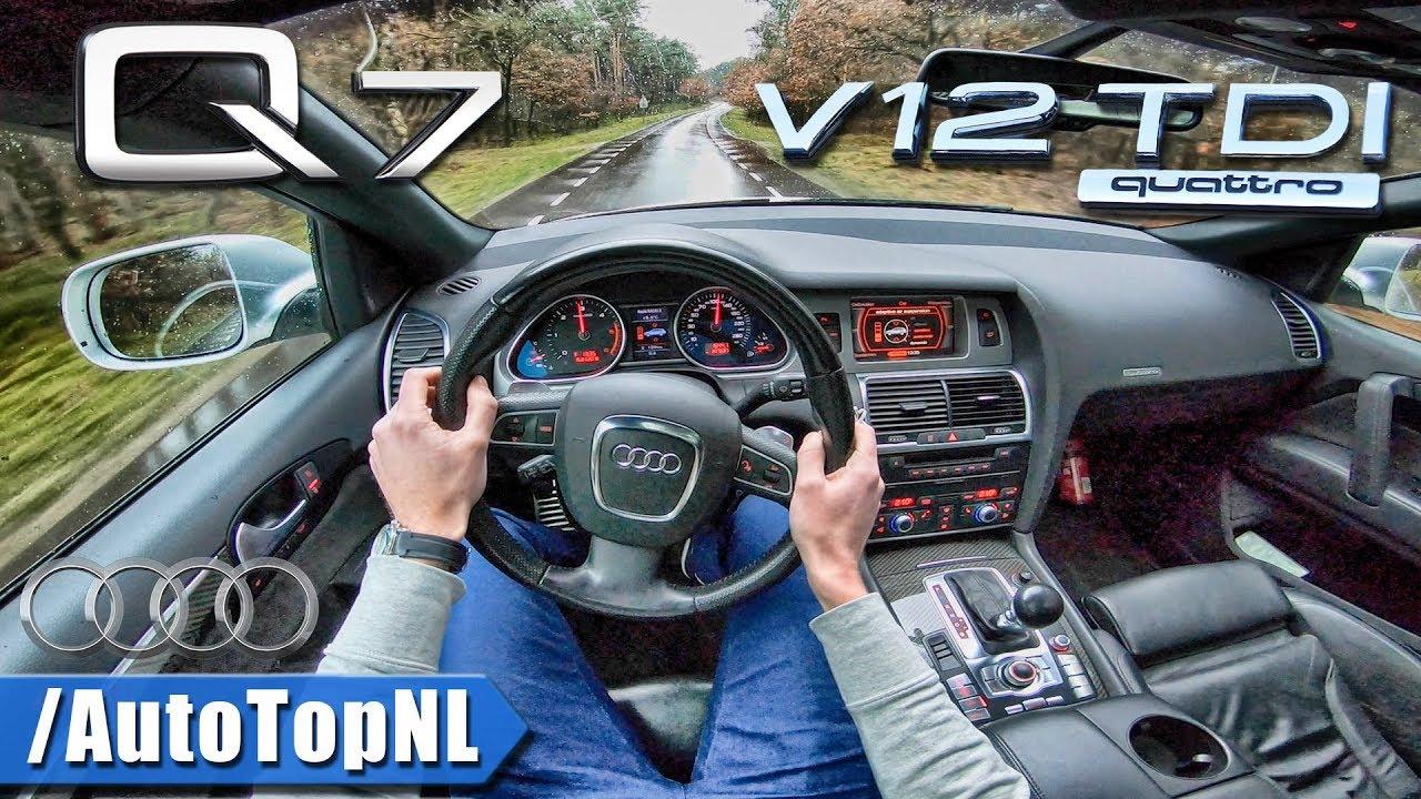 Audi Q7 V12 Tdi 6 0 Biturbo Quattro Pov Test Drive By Autotopnl
