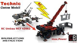 CB LEGO® 42082 - Technik RC Rough Terrain Crane mit SBrick