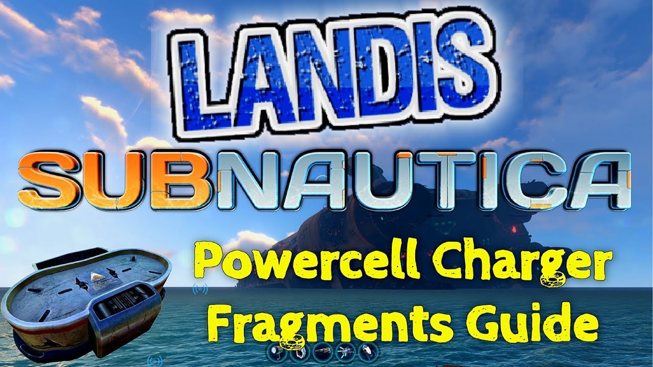 Power Cell Charger Fragments Subnautica Guide Youtube