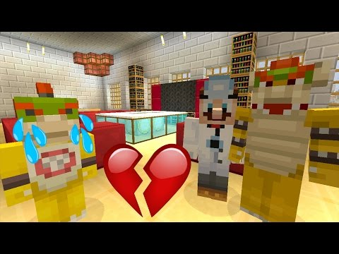 Minecraft Wii U - Nintendo Fun House - Truth about Bowser Jr