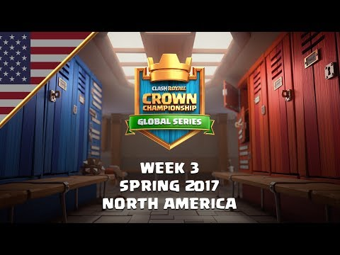Clash Royale: Crown Championship Top 8 (NA, Week Three) - Crown Championship
