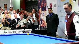 Frédéric Caudron 39 s Winning Run Sang Lee International 2007 Pool Billiard