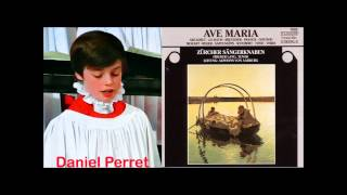 Daniel Perret boy soprano) singing Ave Maria (Schubert) The Zurich Boys Choir