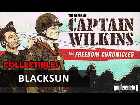 Wolfenstein 2 DLC - The Deeds of Captain Wilkins: Blacksun (Collectibles) |