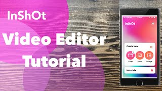 Inshot Video Editor App Tutorial 15 How to Import Music [English]