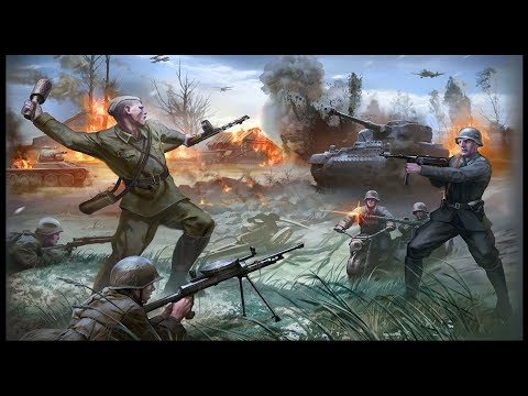 RUSSIAN CHARGE ~ Battle of Stalingrad - Company of Heroes 2