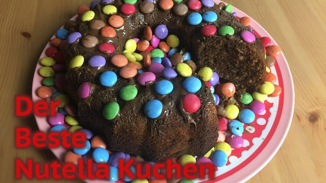 Der Weltbeste Nutellakuchen B Youtube