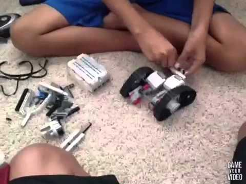 Lego Mindstorms speed build (Wall-E) - YouTube