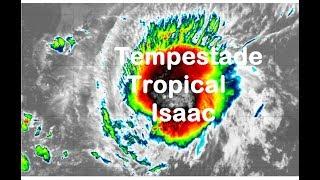 Tempestade Tropical Isaac 11 09 2018