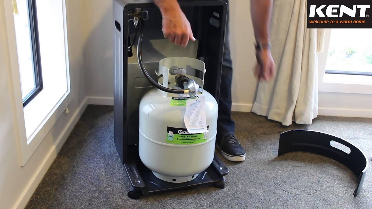 Kent Astro LPG Cabinet Heater - YouTube