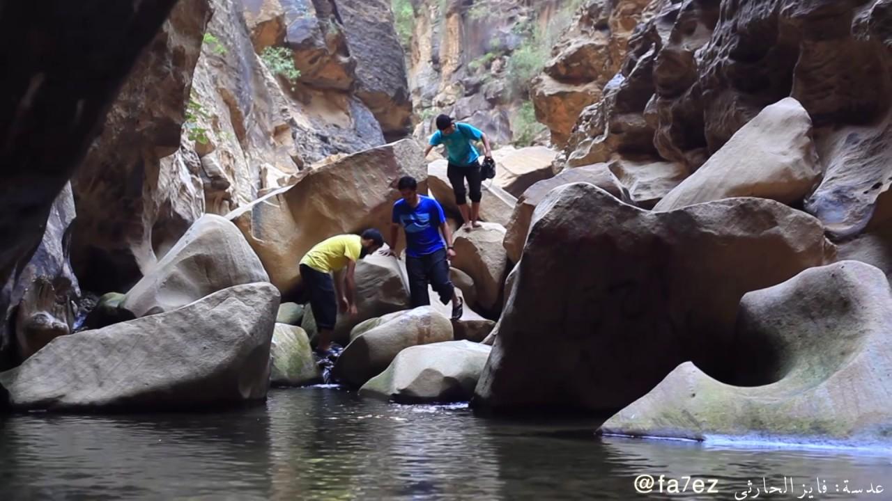 تقرير وادي لجب شلالات مائية وحدائق معلقة تمنح الزائرين المتعة والجمال وكالة الأنباء السعودية