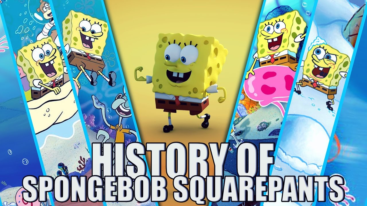 history of spongebob squarepants video games 19992016