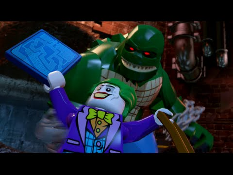 LEGO Batman 3: Beyond Gotham - Walkthrough Part 1 - Pursuers