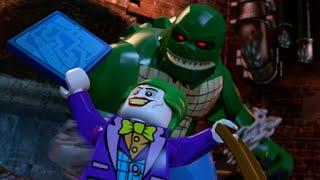LEGO Batman 3: Beyond Gotham - Walkthrough Part 1 - Pursuers in the Sewers (Killer Croc Boss)
