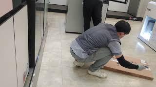 LG Objet 냉장고 설치 이렇게 해여