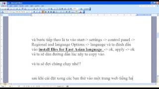 Nhac Viet Nam | hướng dẫn cài font và gõ tiếng hàn không cần đĩa | huong dan cai font va go tieng han khong can dia