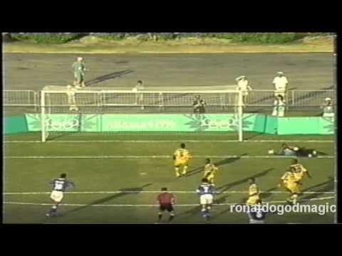 1996 Olympic Ronaldo vs Ghana