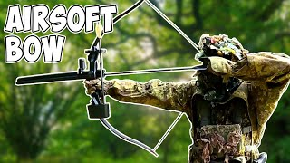 Guy Brings BOW To AIRSOFT Game