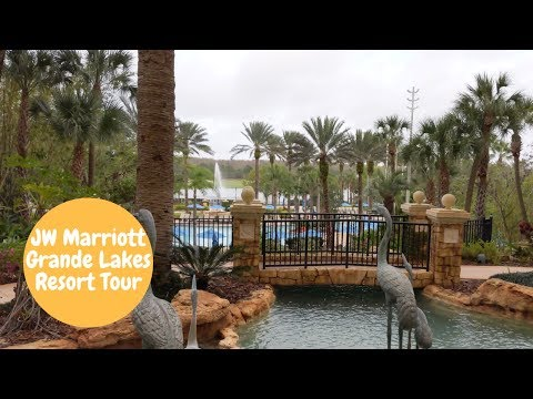JW Marriott Grande Lakes Resort Tour