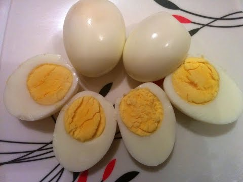 How to Boil Eggs in the Microwave Oven - Without foil - Updated 2015