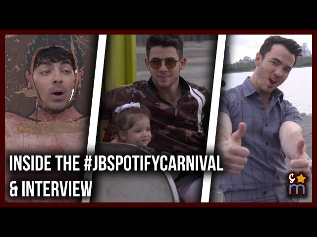 Inside the Jonas Brothers' HAPPINESS BEGINS Spotify Carnival Party & Interview