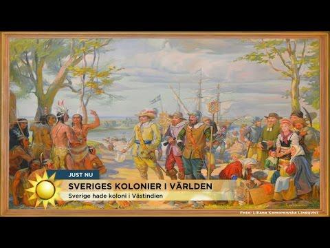 Herman Lindqvist: Här bedrev Sverige slavhandel och kolonisation - Nyhetsmorgon (TV4)