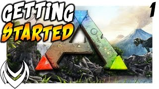 Ark Survival Evolved | GETTING STARTED | MADD Beginnings 1