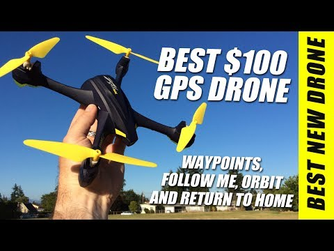BEST $100 GPS DRONE - Hubsan H507A WIFI Quadcopter Review