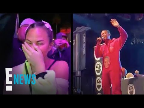 Tony Sandoval on The Breeze - John Legend Gives Hilarious Drunken Performance of All of Me on stage
