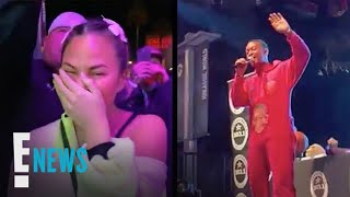 "John Legend Gives Hilarious Drunken Performance of ""All of Me""   E! News"