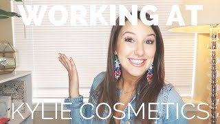WORKING AT KYLIE COSMETICS | HEATHER FERN
