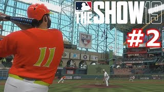 I HIT MY FIRST HOME RUN IN DIAMOND DYNASTY | MLB The Show 19 | Diamond Dynasty #2