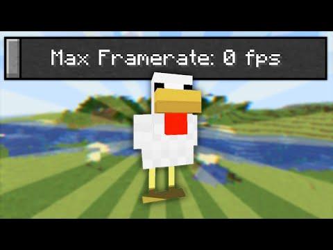 I Made Minecraft Run At 0 FPS