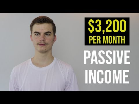 Passive Income: How I Make $3,200 A Month (4 Ways)