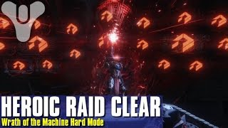 My First Complete Wrath of the Machine Heroic Raid Clear