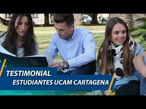 Testimonial de estudiantes - UCAM Cartagena