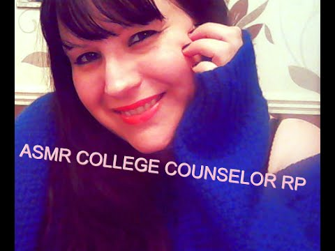 ASMR College Counselor RP - Typing, writing, papers sounds - Personal Attention