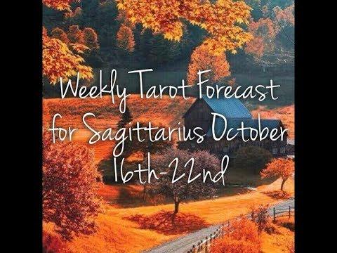 Weekly Tarot Forecast for Sagittarius October 16th-22nd