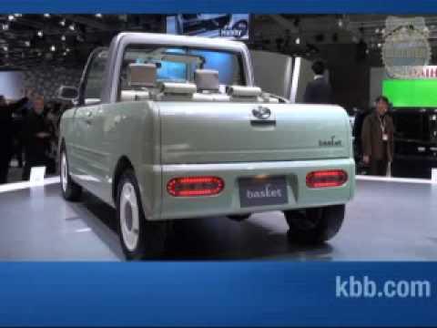 Daihatsu Basket Concept Tokyo Motor Show Kelley Blue