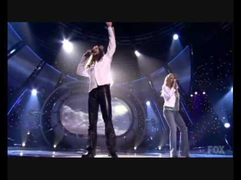 Carrie Underwood & Bo Bice - Up Where We Belong