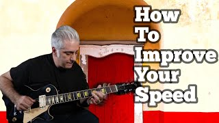 Guitar Lesson: How To Improve Your Speed