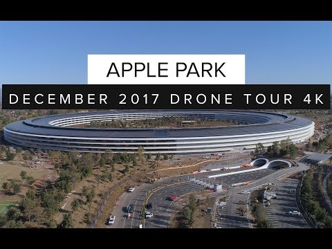 New Apple Park Drone Video Captures Latest Construction Progress as 2018 Completion Date Nears
