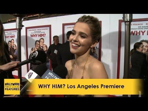 'WHY HIM?' LA Premiere: Bryan Cranston, Zoey Deutch, James Franco